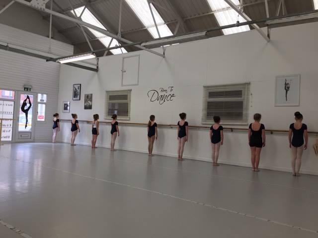 dance lesson at ingram academy